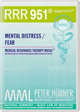 RRR 951 Mental Distress / Fear