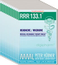 Order the Program: Peter Huebner - RRR 133 Headache / Migraine • Nr. 1-12