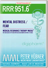 RRR 951-6 Mental Distress / Fear