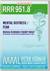 RRR 951-8 Mental Distress / Fear