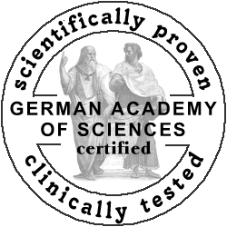 German Academy of Sciences - certified